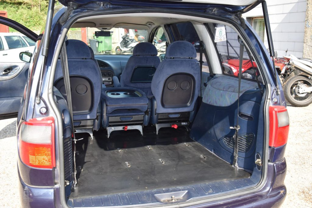 7-Sitzer auch ohne hintere Sitze für viel Platz